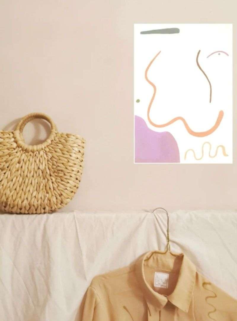 Obtusely Acute Print AffandJam Sanna Conscious Concept