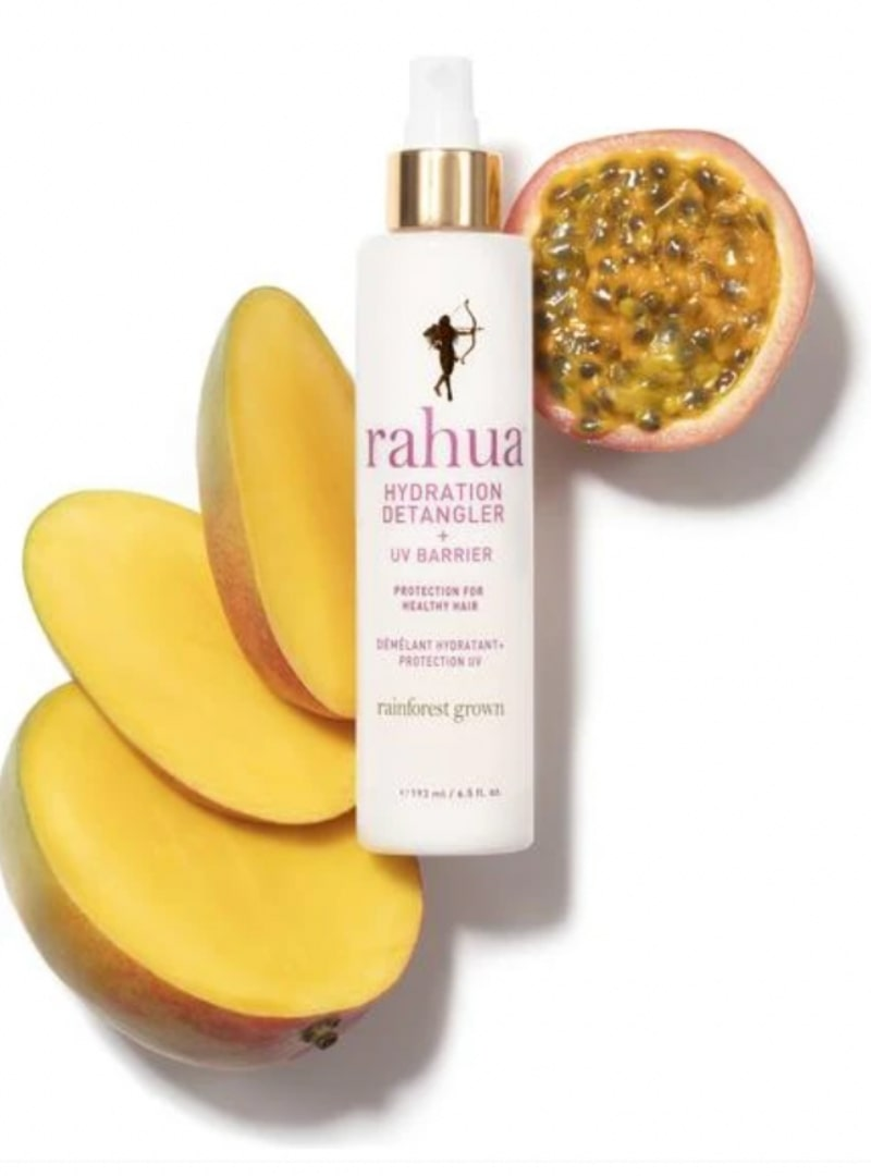 Rahua Hydration Detangler and UV Barrier ingredients sanna conscious concept