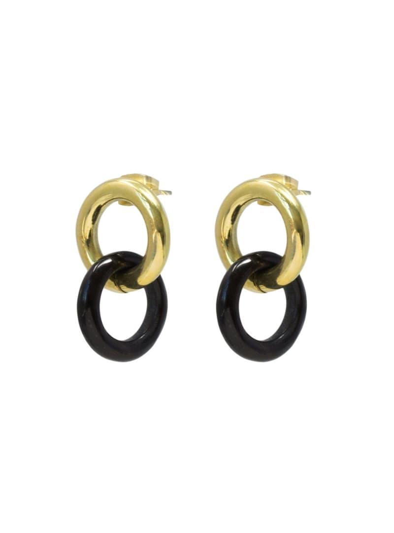 kumi boucles d'oreilles en matériaux mixtes soko sanna conscious concept