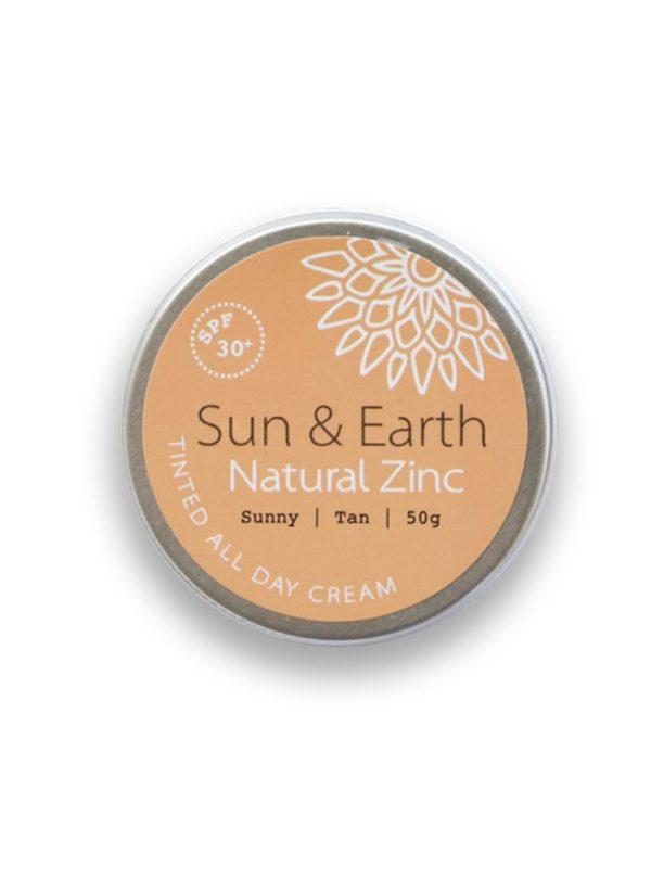 creme de jour teintee sun & earth sanna conscious concept