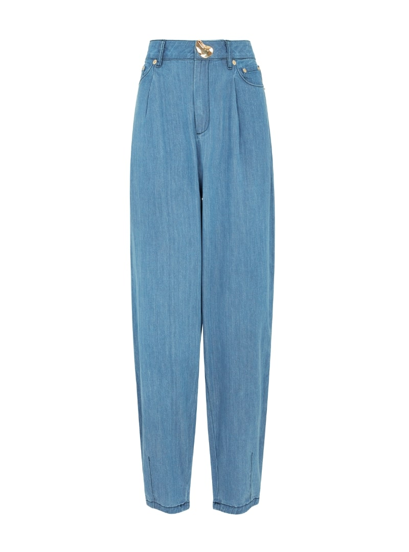 Joey Light Denim Jeans in Blue mother of pearl sanna conscious concept