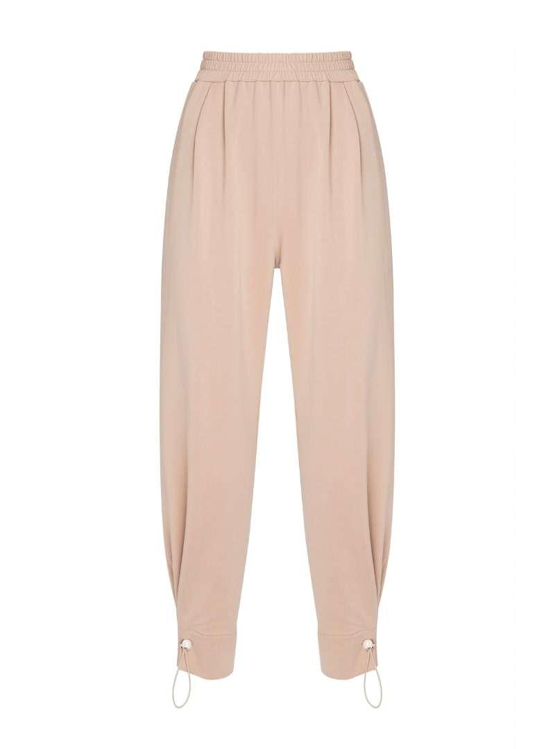 tan stone pants mother of pearl sanna conscious concept