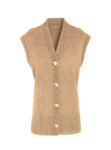 tan casey cardigan from mother of pearl sanna conscious concept