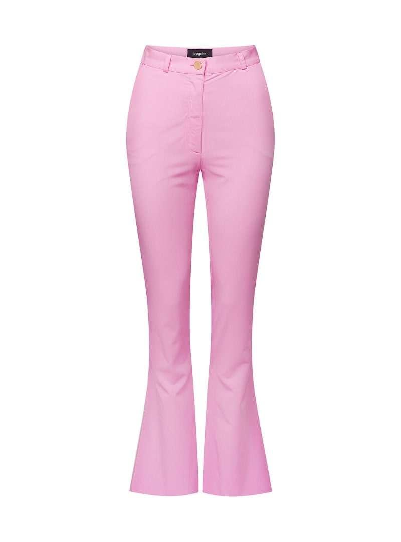 pantalon évasé rose bogdar sanna conscious concept