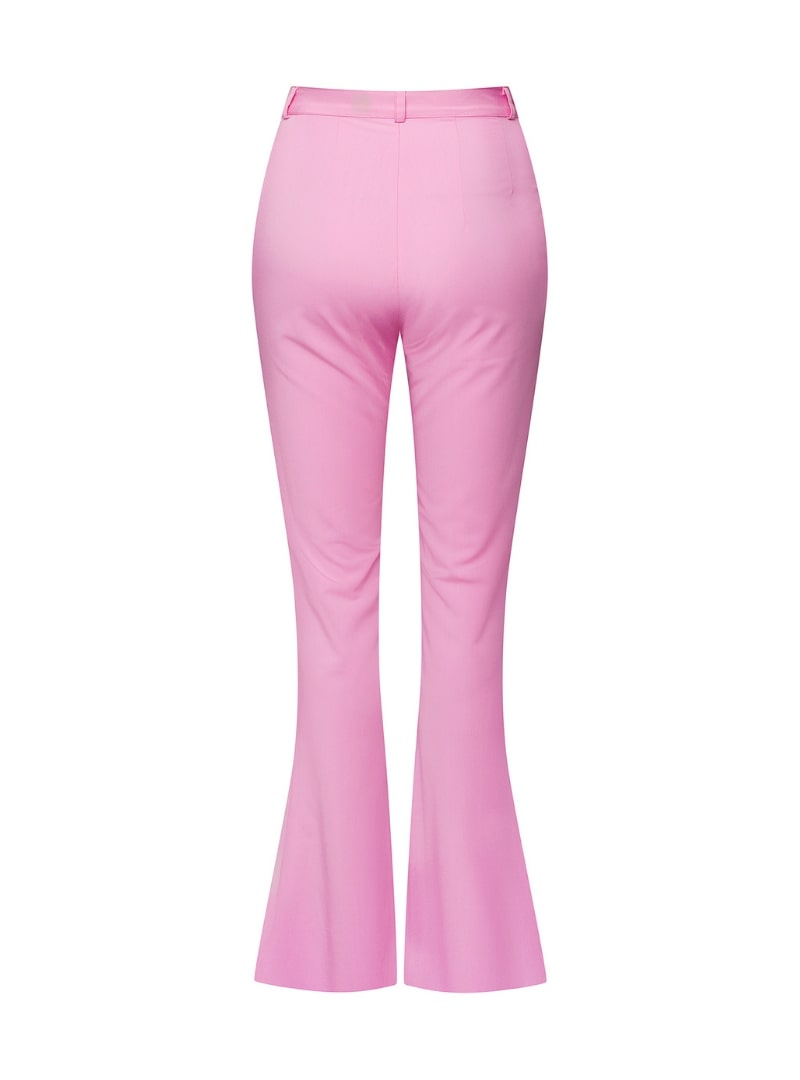 pink pants on a white background