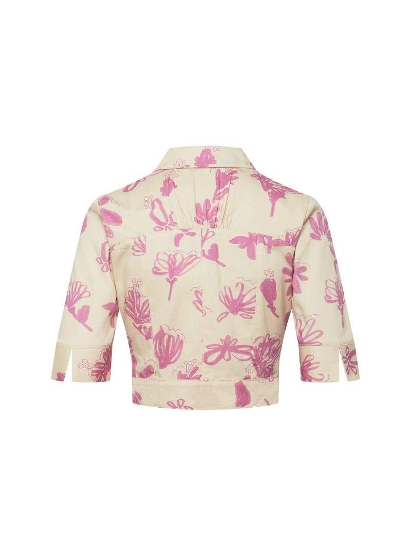 veste floral en beige et rose bogdar sanna conscious concept