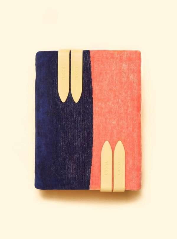 beach towel with pins tucca sanna conscious concept