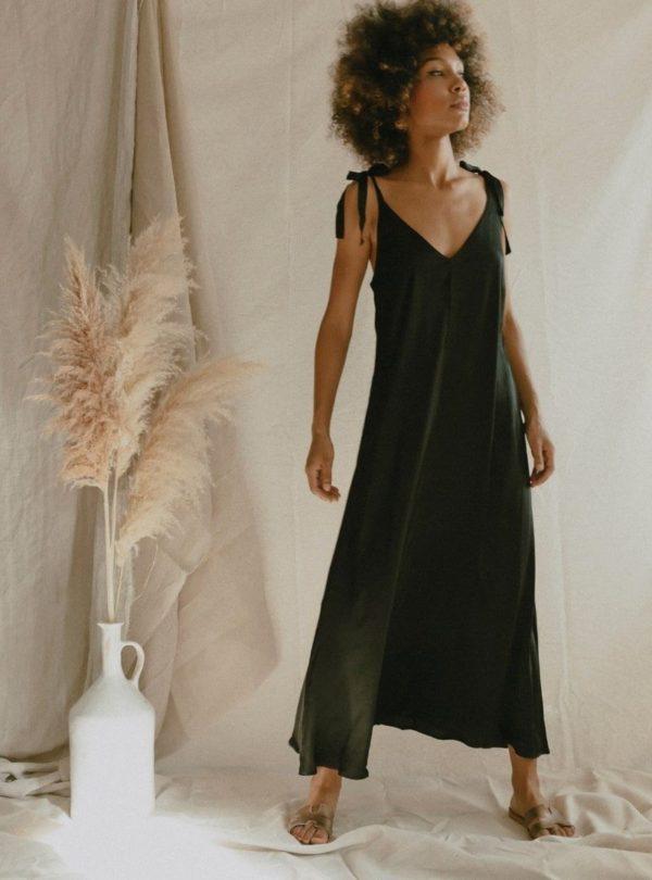 flowy dress cossac sanna conscious concept
