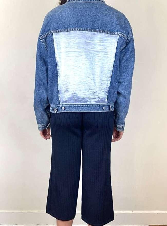 blue denim jacket anotherland sanna conscious concept