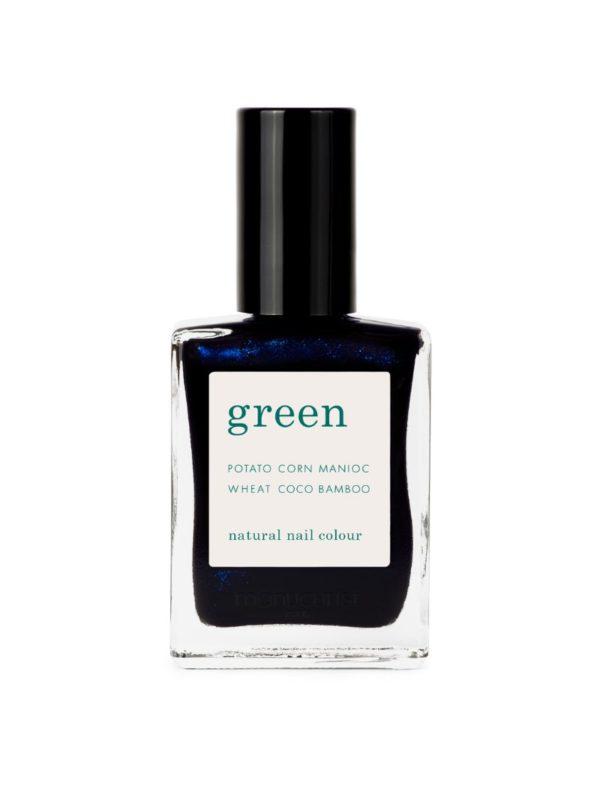 nail polish dark night manucurist sanna conscious concept