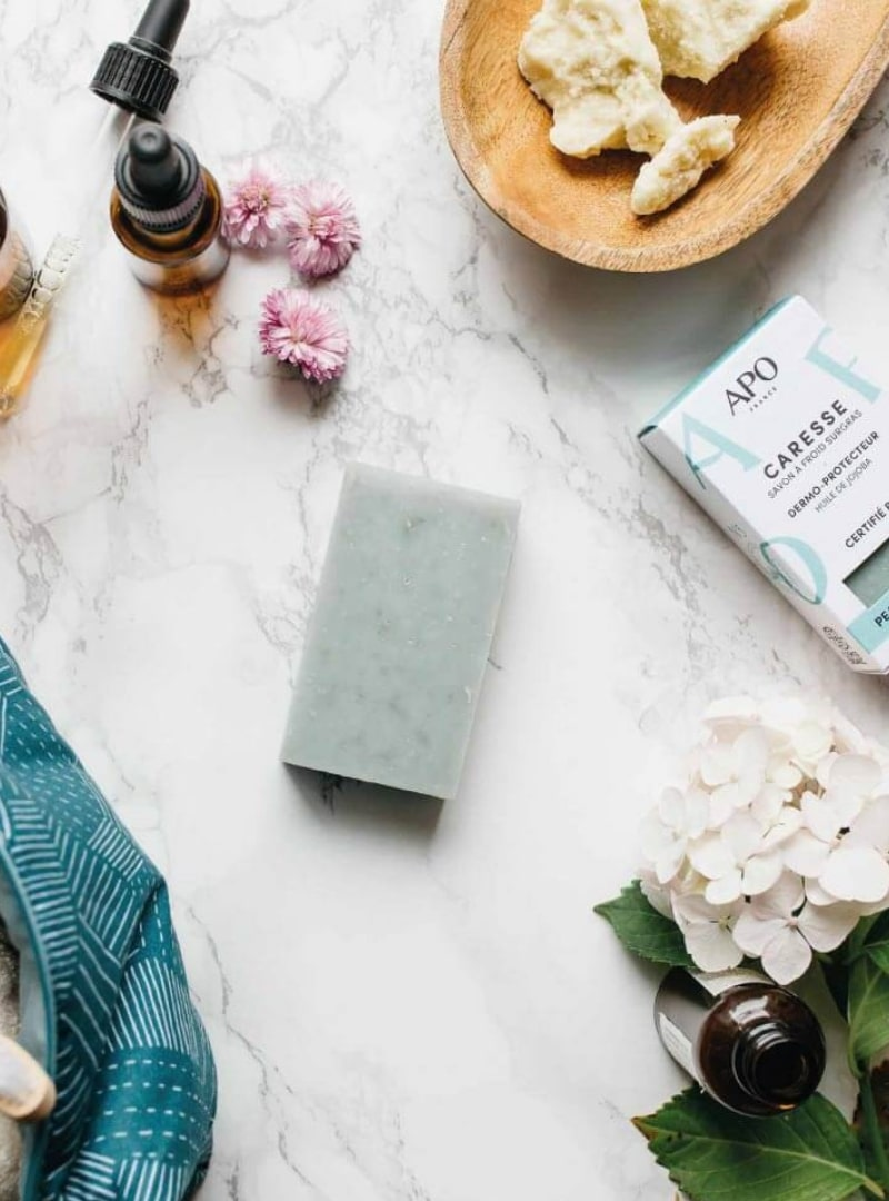 Solid Cold-Processed Soap Combination Oily Skin apo france sanna conscious concept