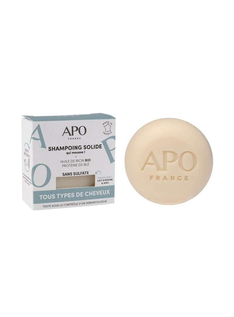 Solid Shampoo Hair Types apo france sanna conscious concept