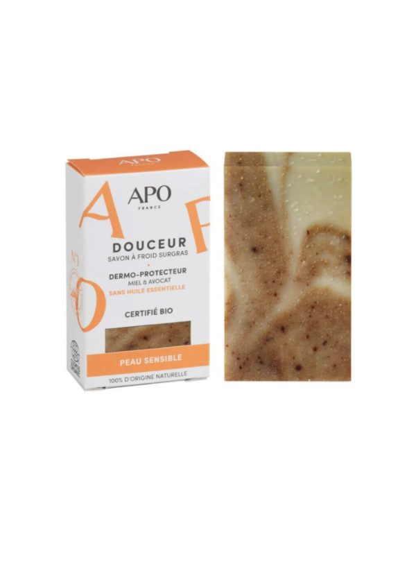 Solid Cold-Processed Soap Sensitive Skin apo france sanna conscious concept