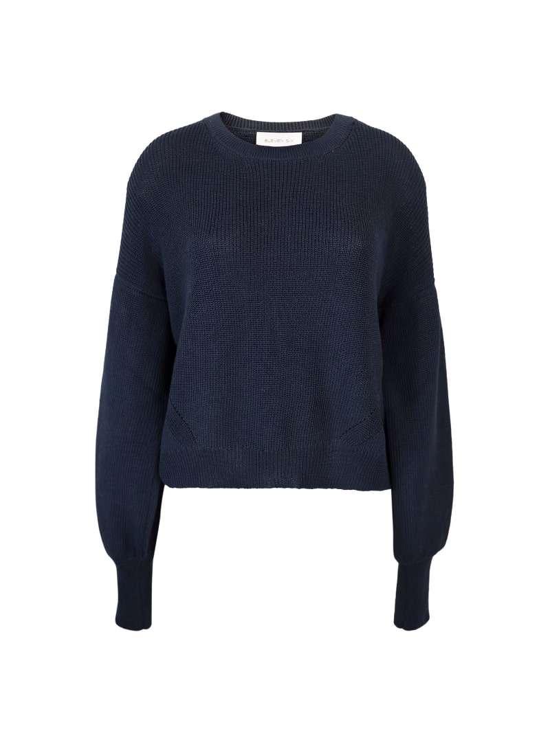navy sweater eleven six sanna conscious concept
