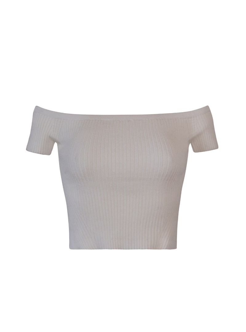 white sweater eleven six sanna conscious concept