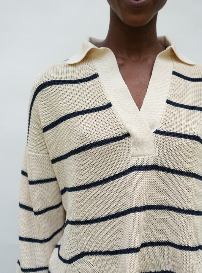stripped sweater eleven six sanna conscious concept