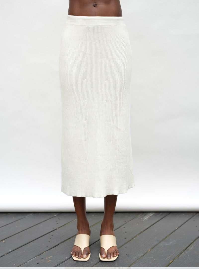 white skirt eleven six sanna conscious concept