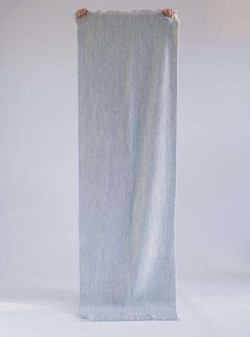 alpaca loca single grey scarf 1
