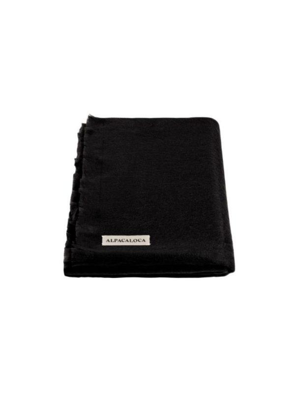 alpaca loca black scarf sanna conscious concept