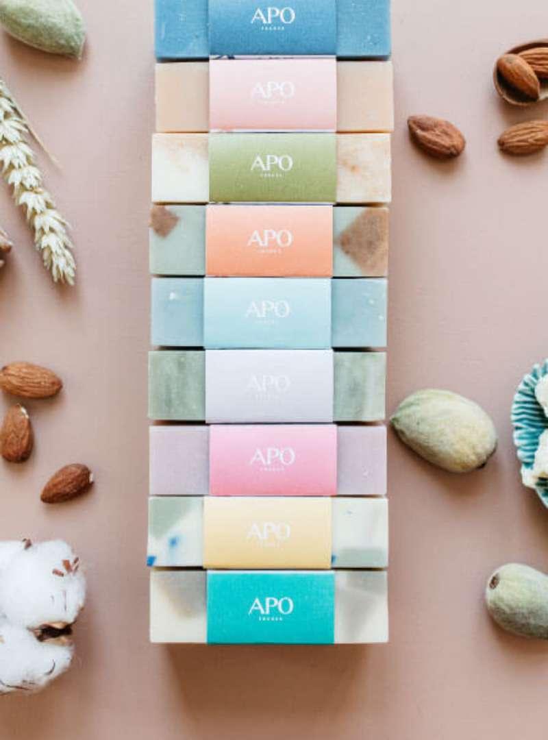 Colorful Bar Soap APO France Sanna Conscious Concept