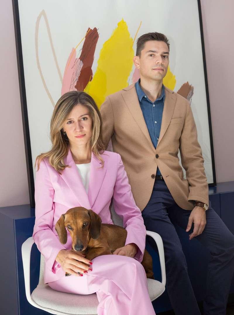 CEO Portrait with Dog Bogdar Sanna Conscious Concept