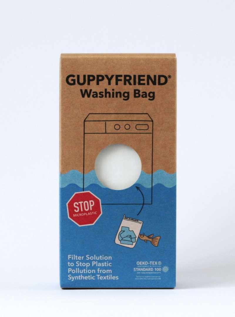 Box of Organic Washing Bags Guppyfriend Sanna Conscious Concept