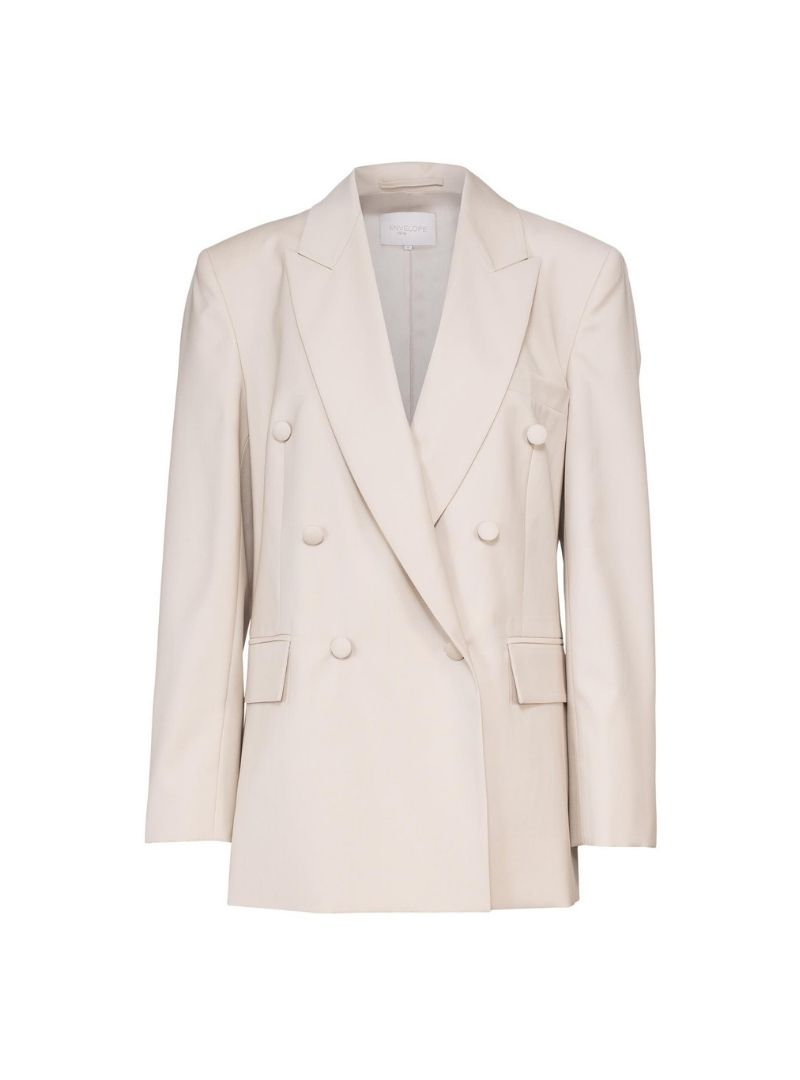 beige blazer Envelope 1976 sanna conscious concept