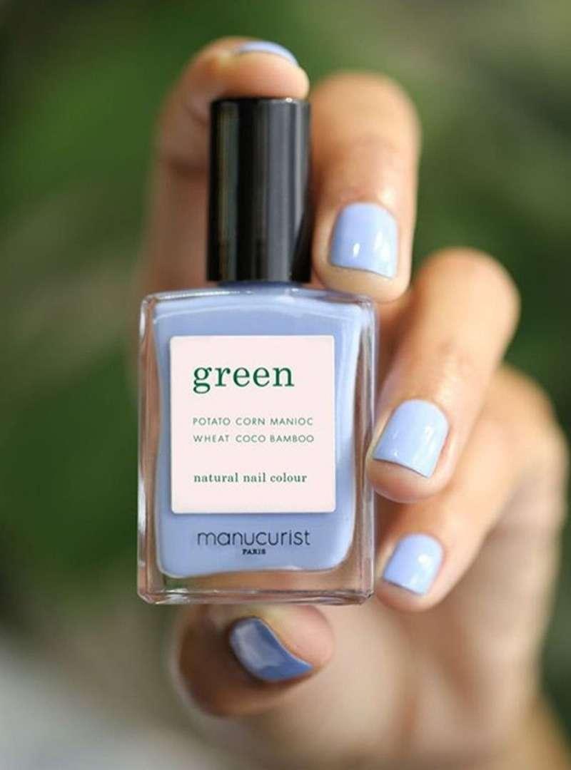 Lavender Nail Polish Manucurist Green Sanna Conscious Concept