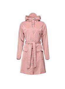 curve jacket in blush rains sanna conscious concept