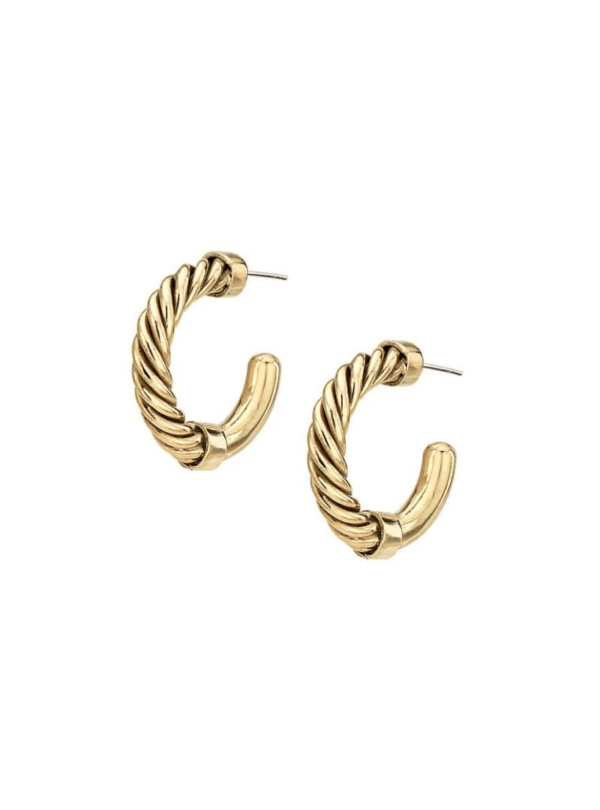 uzi mini hoop earrings soko sanna conscious concept