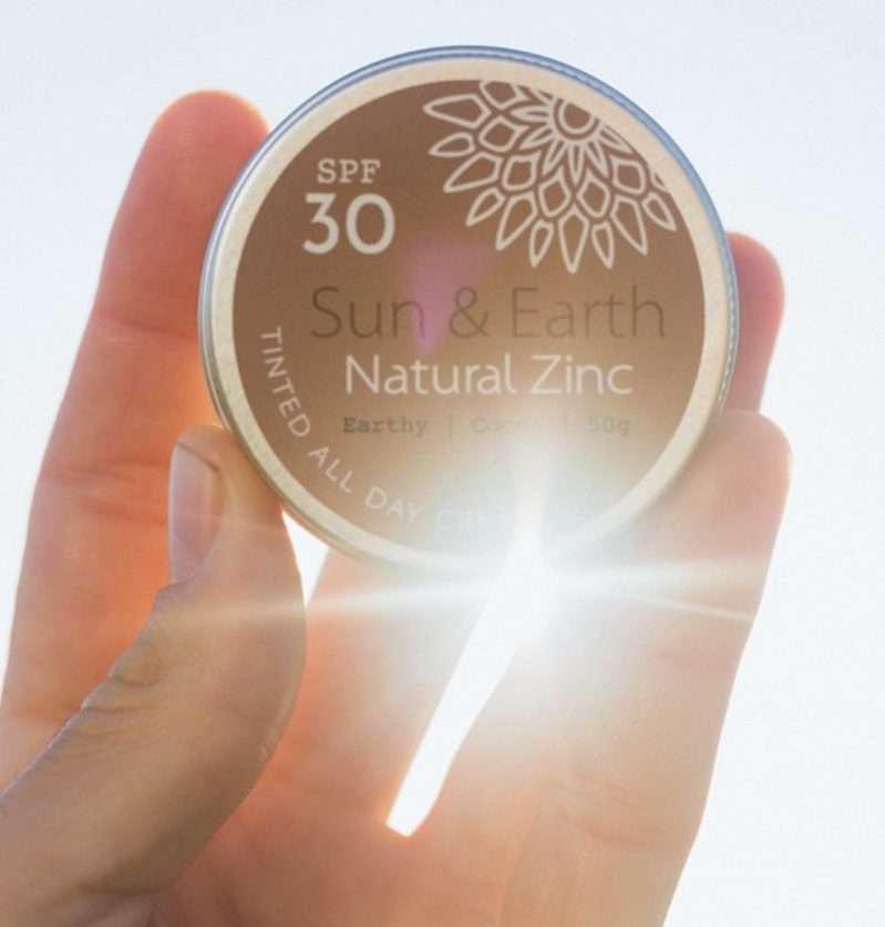 Sun Earth Oganic Cosmectic Sanna Conscious Concept