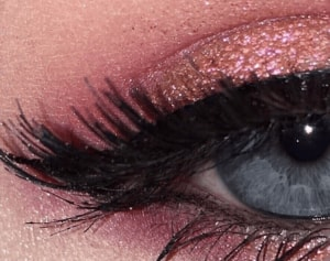 close up on a pink eye makeup look archive 8 everyday products that contain plastic sanna conscious concept