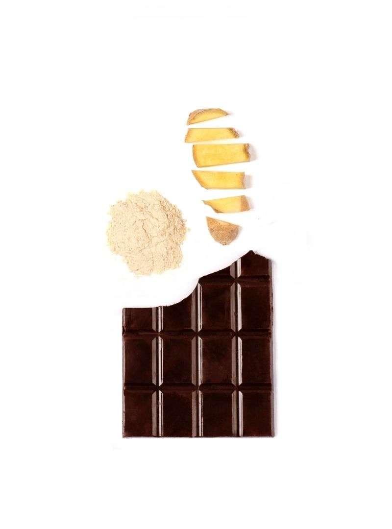 Tablette de chocolat - ashwagandha et gingembre cosmic dealer sanna conscious concept
