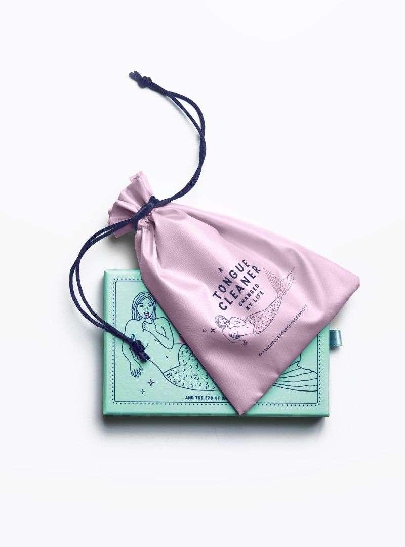 sac pour gratte-langue en cuivre cosmic dealer sanna conscious concept