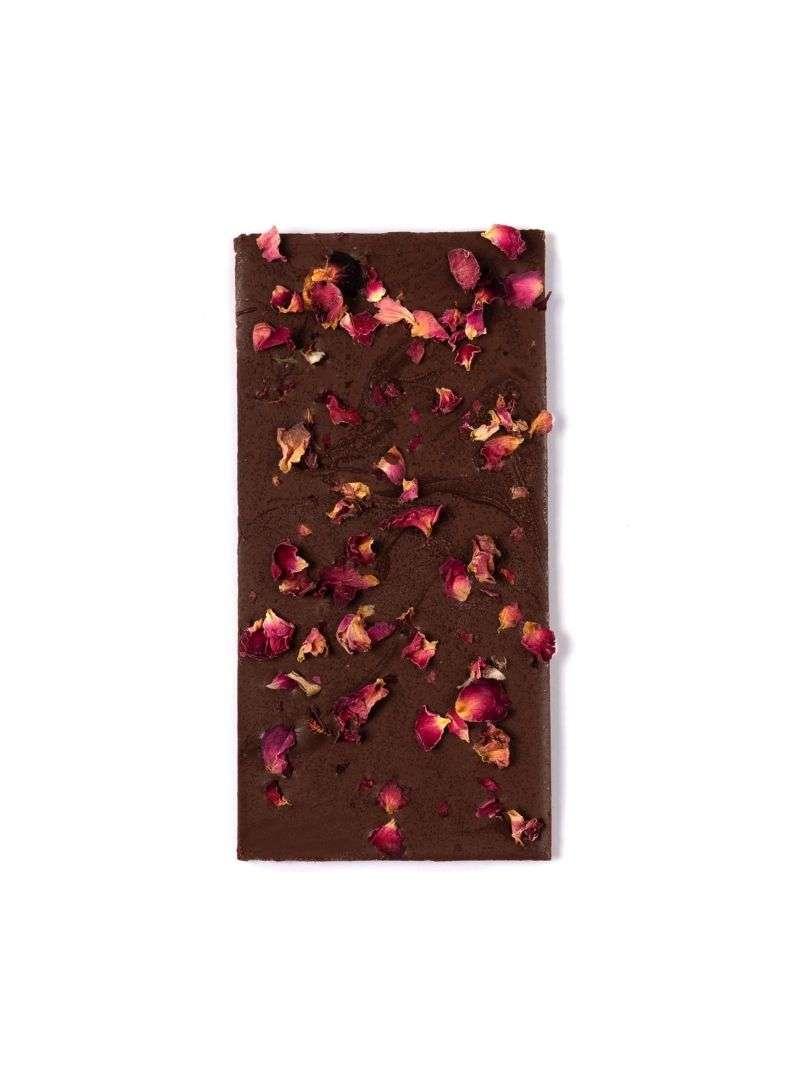 Tablette de chocolat - rose et chai cosmic dealer sanna conscious concept