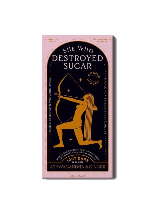 CACAO ASHWAGANDHA & GINGER COSMIC DEALER sanna conscious concept