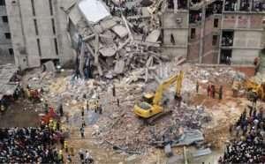 batiment etant detruits a la suite de l'effondrement du rana plaza archive les dessous de l'effondrement du rana plaza sanna conscious concept