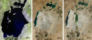 3 maps from differents years showing the reduction of water archive 4 ways the fashion industry harms the environment sanna conscious concept