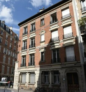parisian building archive paris green energy sanna conscious concept