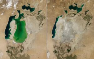 aral sea dried sanna conscious concept