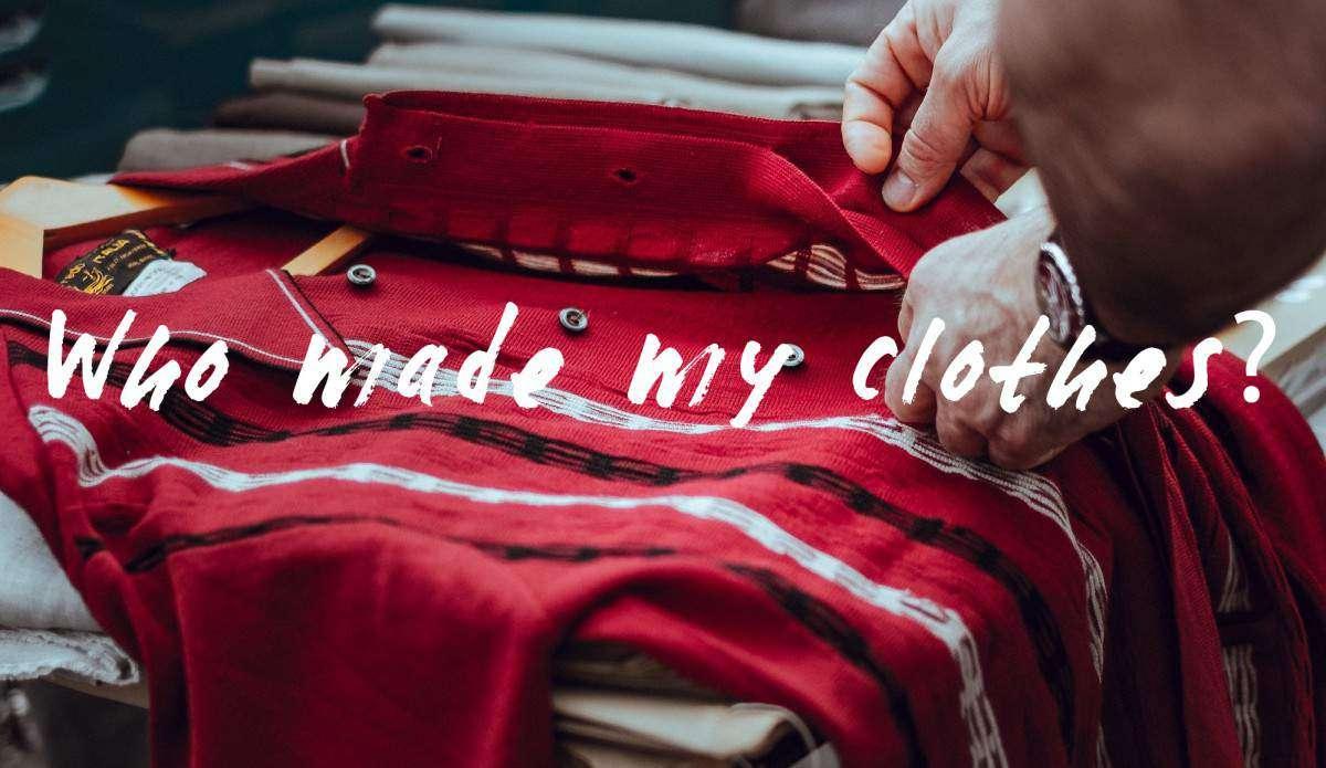 who made my clothes movement sanna conscious concept