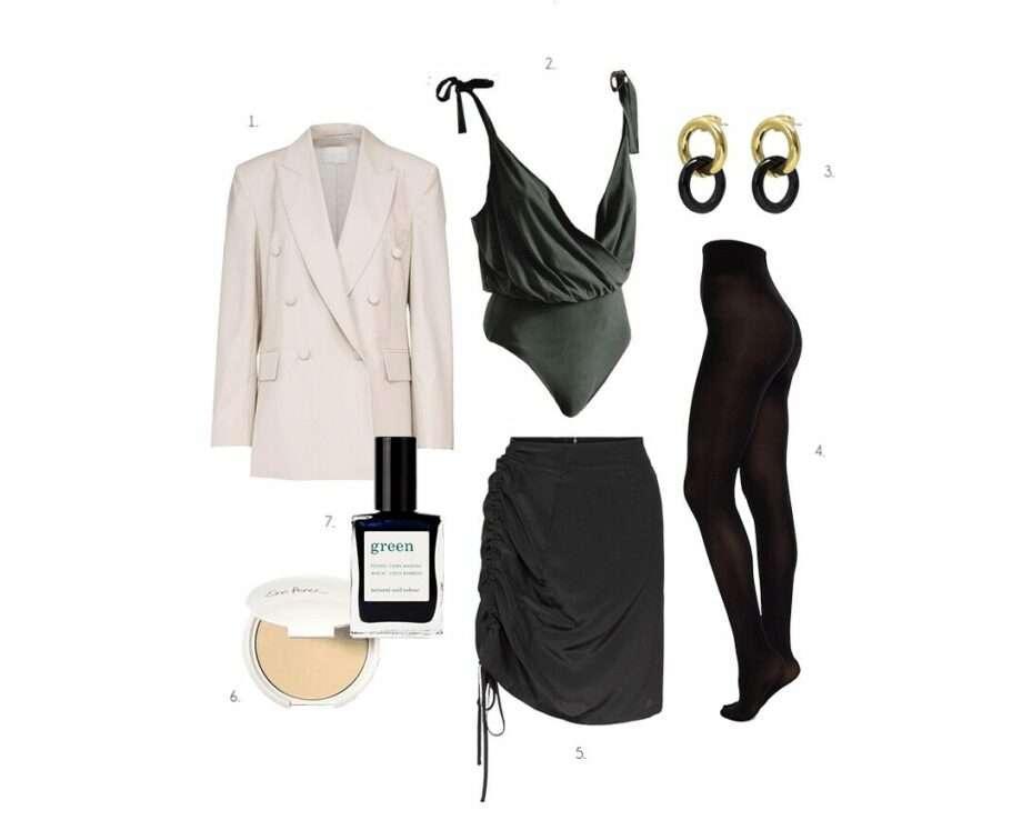 tableau de mode look retour au travail archive guide pour la rentrée sanna conscious concept