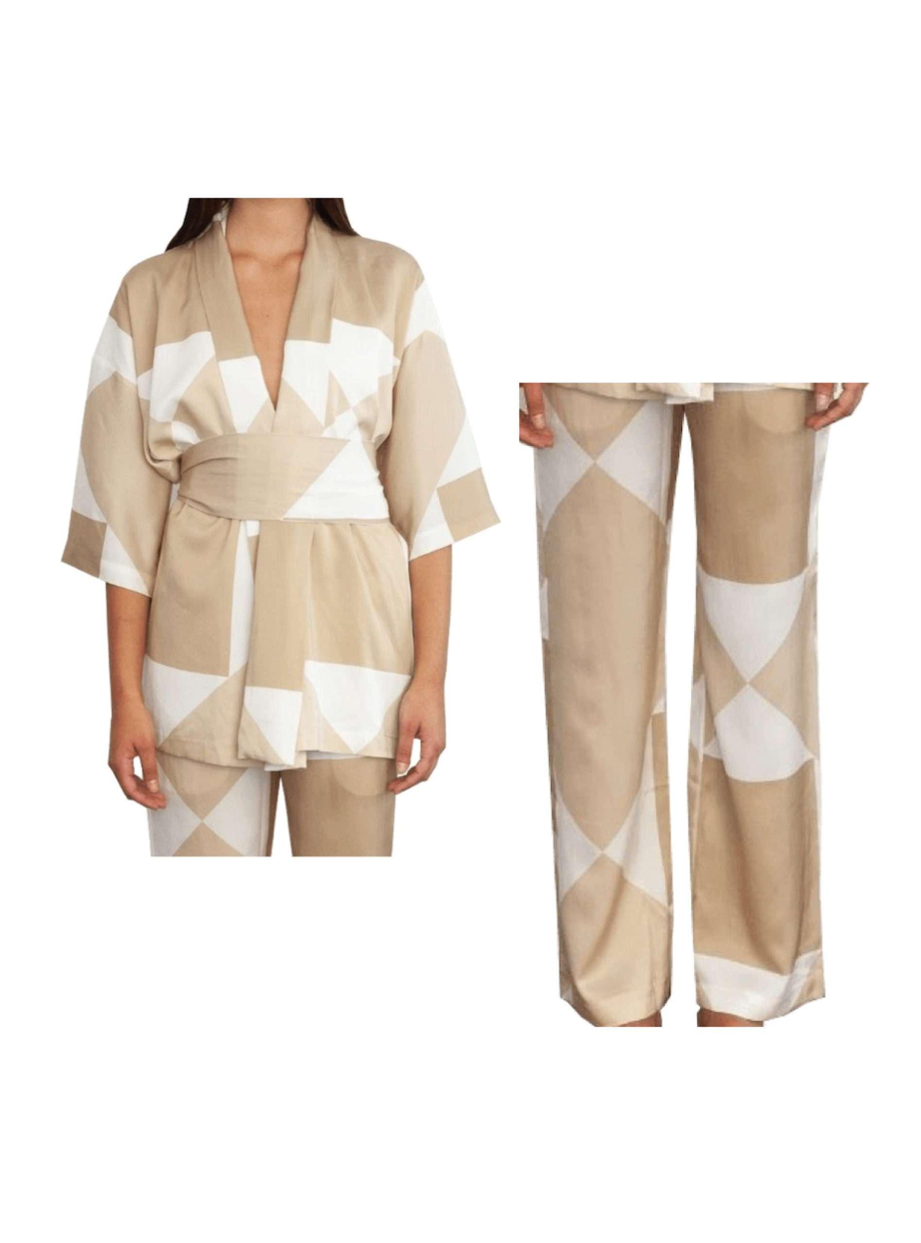 kusi and vehi printed kimono set envelope 1976 sanna conscious concept